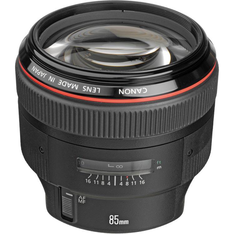 Canon Lens | EF 85mm f/1.2L II USM | Kit