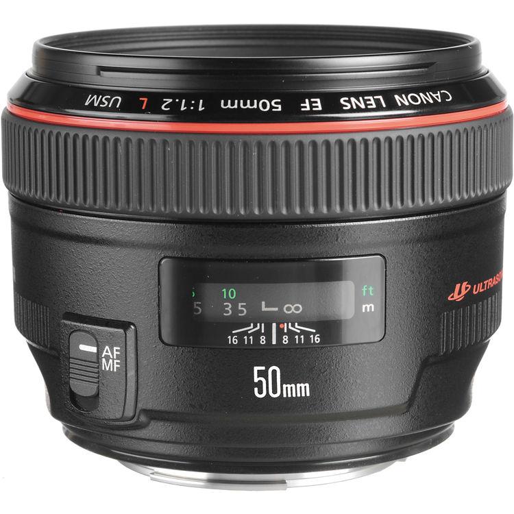Canon Lens | EF 50mm f/1.2L USM | Kit