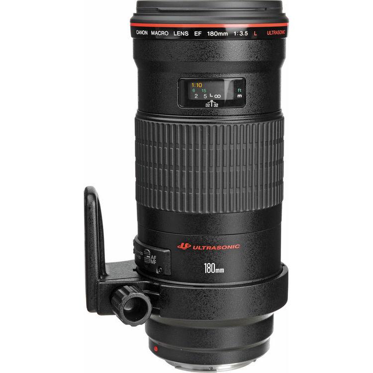 Canon Lens | EF 180mm f/3.5L Macro USM | Kit