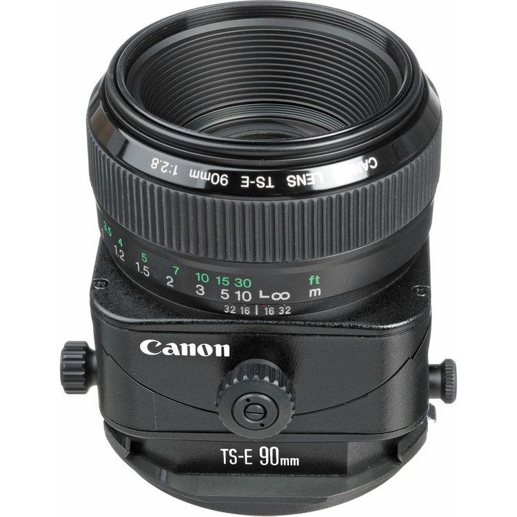 Canon Lens | TS-E 90mm f/2.8 | Manual Focus | Kit