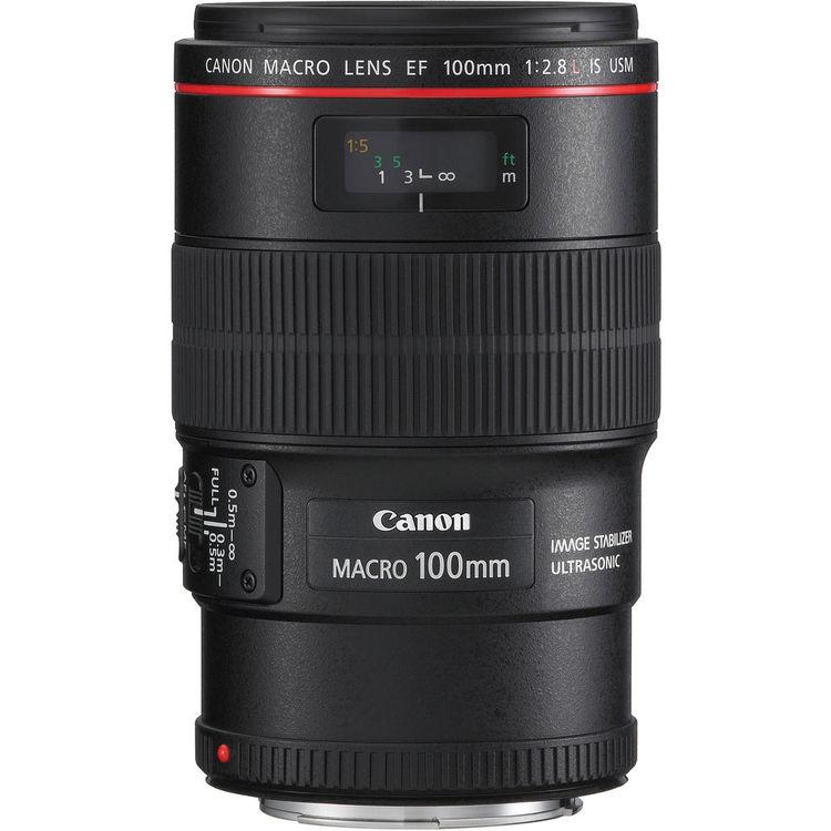Canon Lens | EF 100mm f/2.8L IS Macro USM | Kit