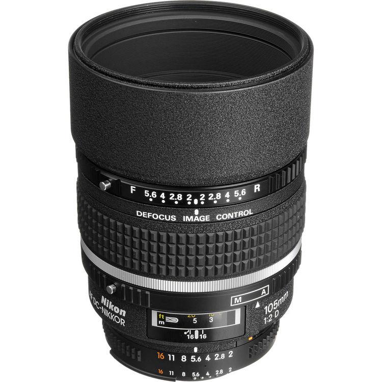 Nikon Lens | AF 105mm f/2.0D Defocus Control | Kit