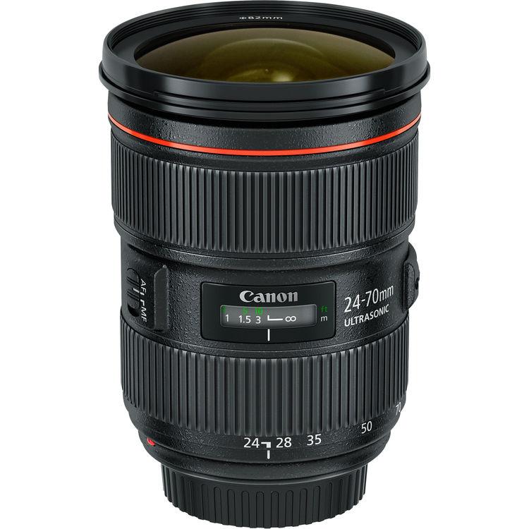 Canon Lens | EF 24-70mm f/2.8L USM II | Kit