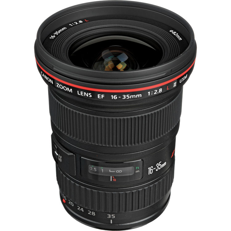 Canon Lens | EF 16-35mm f/2.8L USM II | Kit