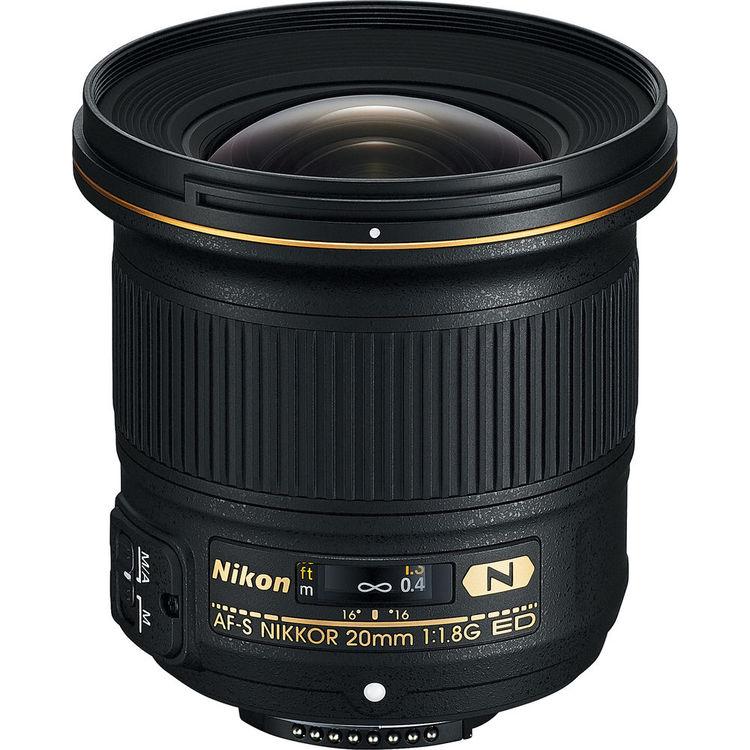 Nikon Lens | 20mm f/1.8G ED | Kit