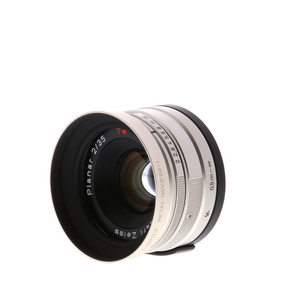 Contax Lens G 35mm f/2 Zeiss T* Planar