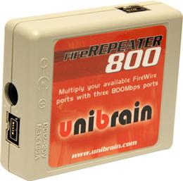 Unibrain | Powered Repeater | FW800 | Kit