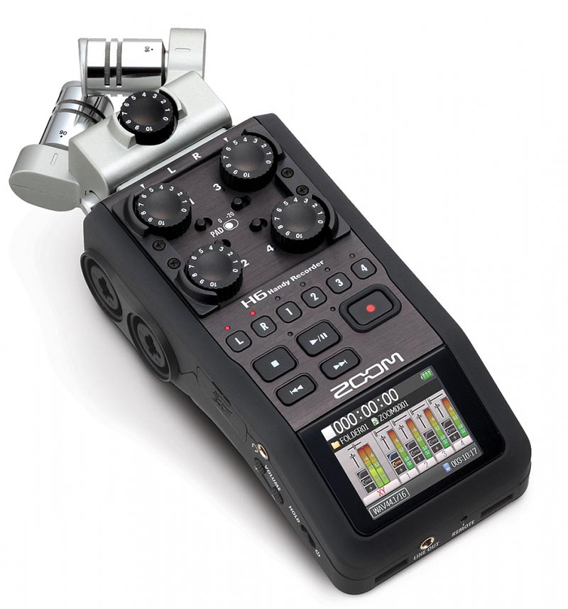 Zoom | H6 | Handy Recorder