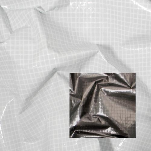 Overhead Fabric | 6x6' | Griffolyn | Black/White