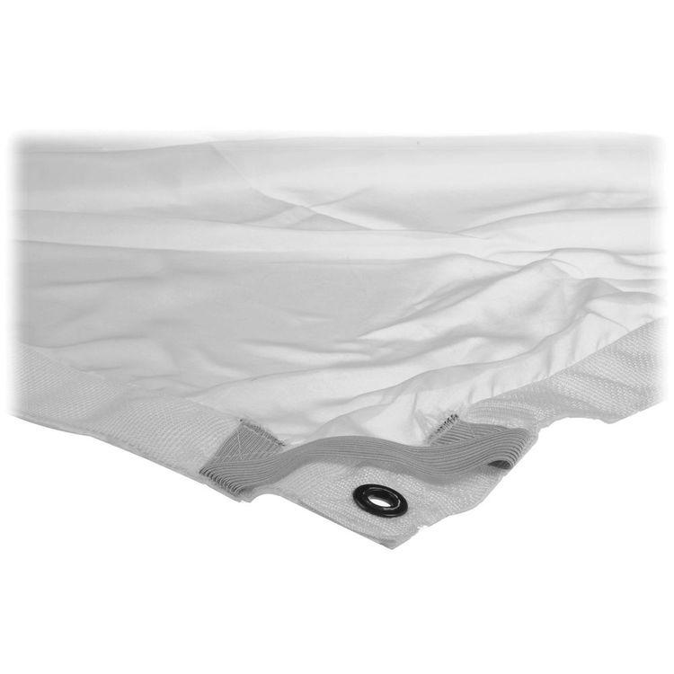 Overhead Fabric | 6x6' | 1/4 Stop Silk | White