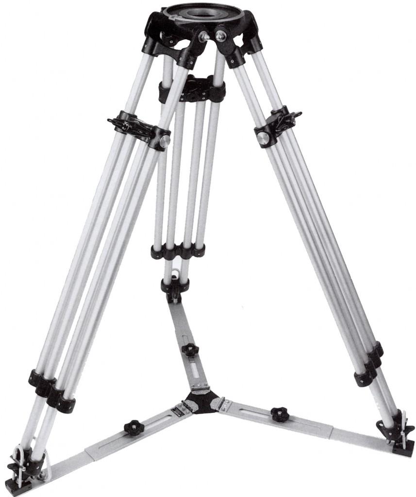 Ronford-Baker | Cine Tripod | Standard Sticks | Mitchell Base
