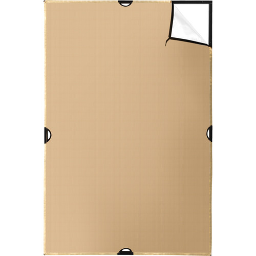 Scrim Jim | Fabric | 4x6' | Gold/White