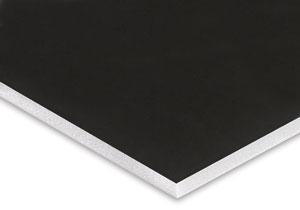 V Flat   Foam Core   Black & White   4'x8'