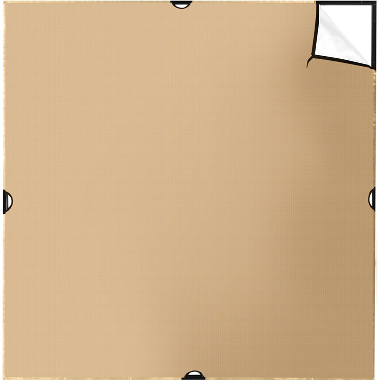 Scrim Jim   Fabric   6x6'   Gold/White