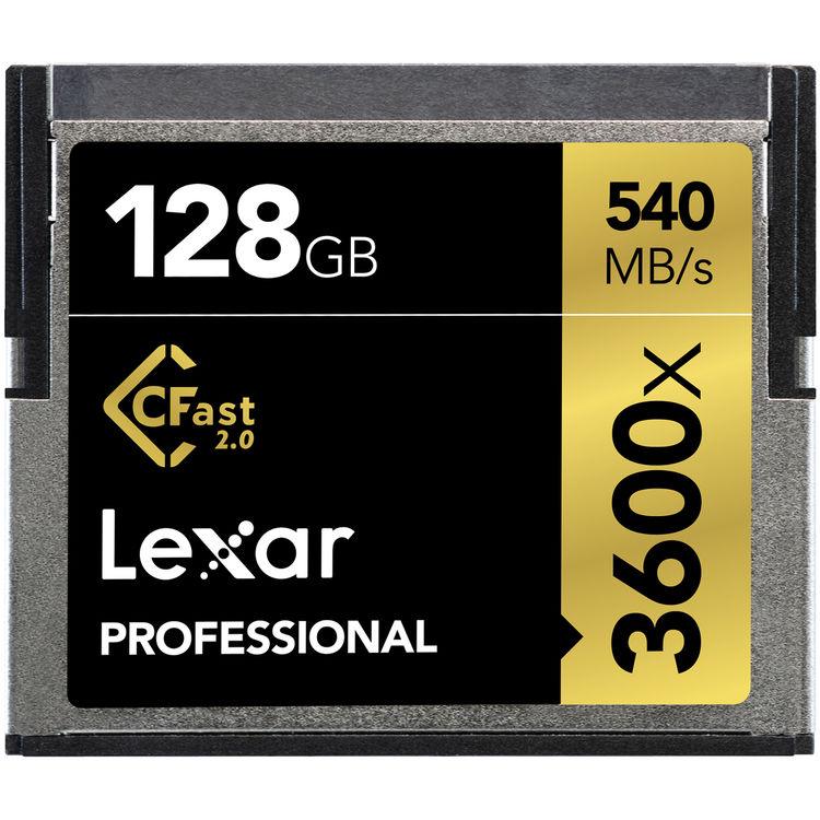 Lexar   CFast 2.0   128GB