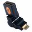 Tether Tools | HDMI F - Mini HDMI M | 360 Swivel Adapter