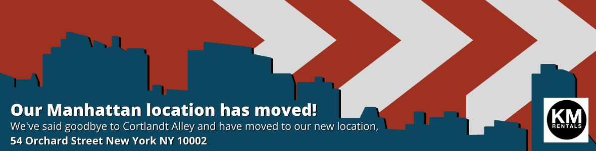 We've moved