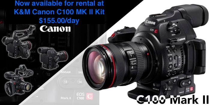 Canon C100MKII C100 Cinema Eos