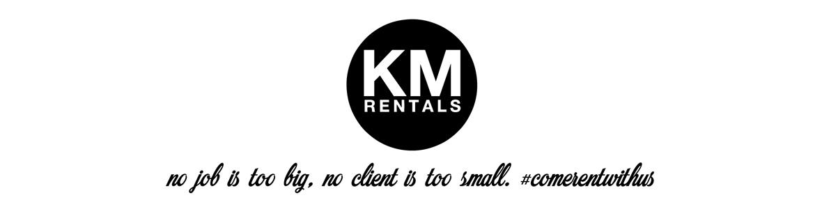 KM Rentals Banner